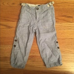 Linen Baby Blue 18-24 Month Pants